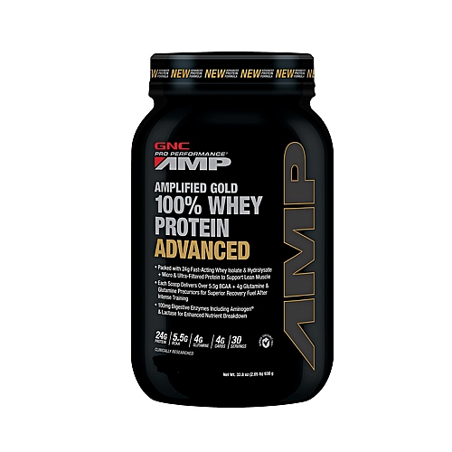 AMP GOLD 100% WHEY PROTEIN ADVANCED 2lbs